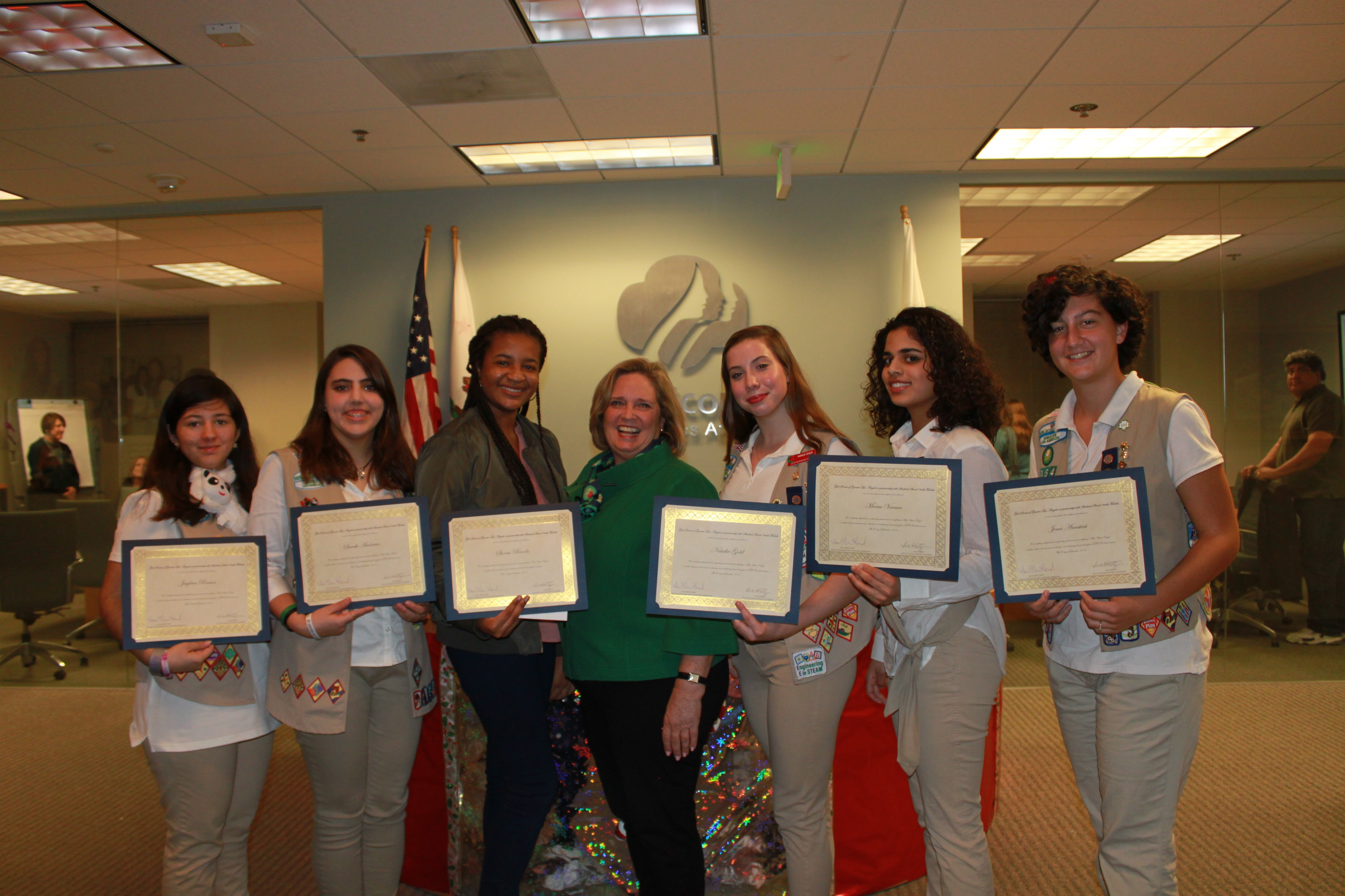 making the world a better place girl scouts of greater