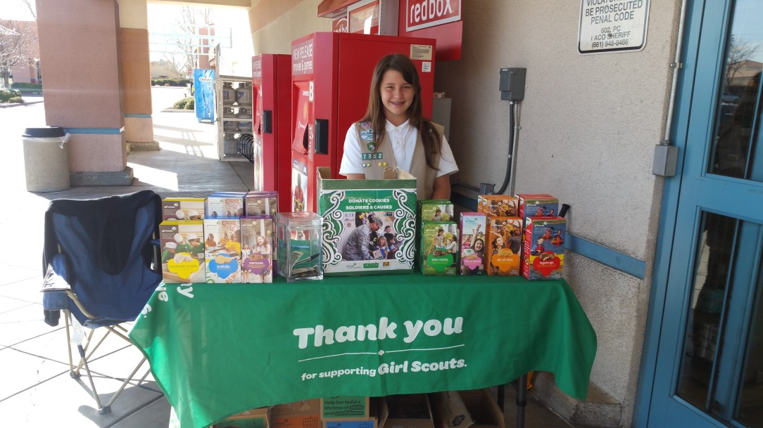 cookies girl scouts of greater los angeles
