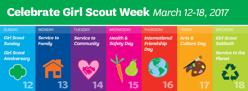 Happy Girl Scout Week!