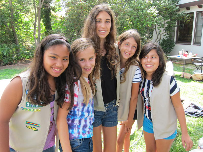 Girl Scout Power for Middle School