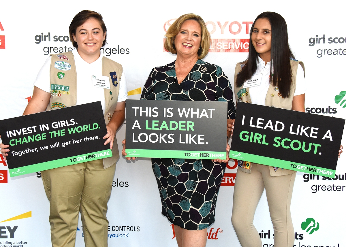 Proud to Be an Emerging Leader Girl Scout