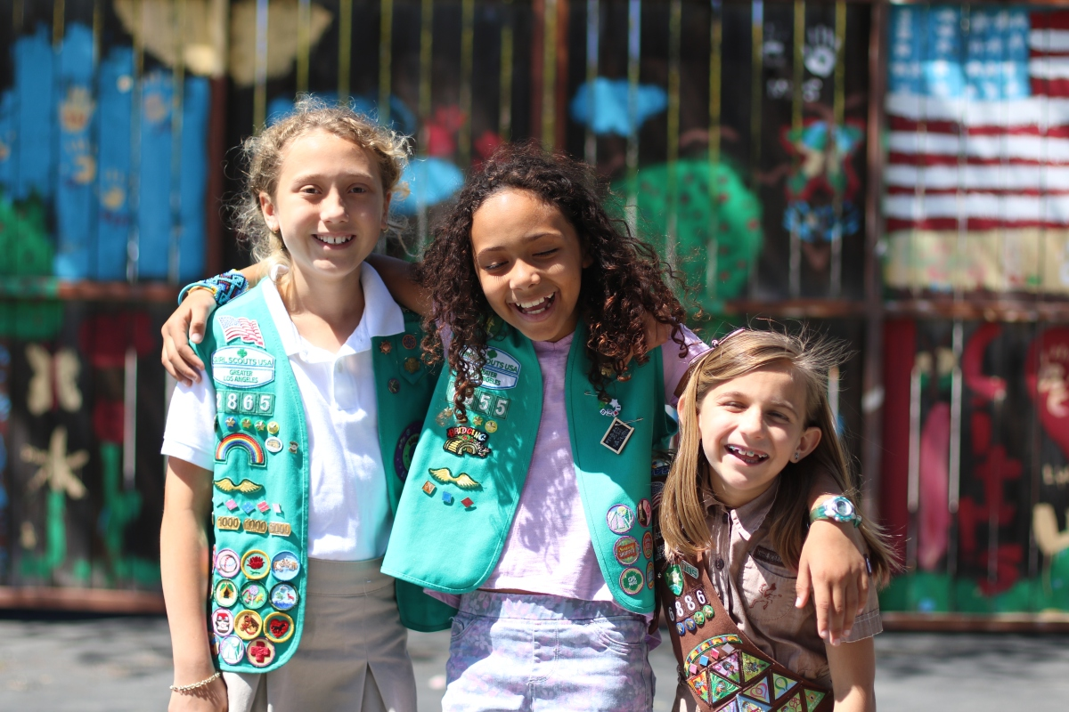 """I Am Thankful for Girl Scouts Because…."""