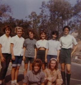 Dexter Park camping, 1964.