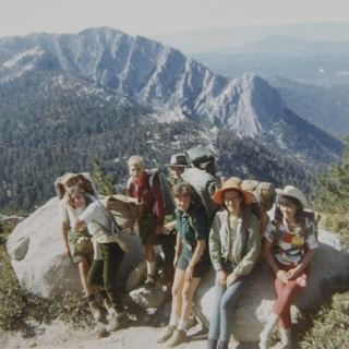 San Jacinto backpacking trip, 1966.