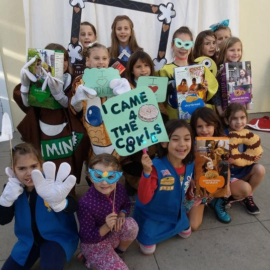 Like a Cookie Boss: First-Time Cookie Sellers – Scouts of ... Scout Cookie Order Form Greater Los Angeles on